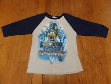 #2303-7 Disney Kingdom Hearts SQUARE ENIX 3/4 Sleeve Graphic Jersey W - XS