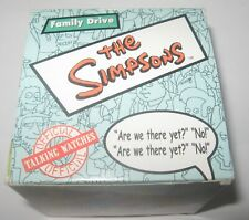Burger King The Simpsons Family Drive Talking Watch 2002 Collectible