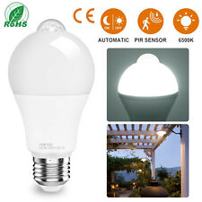 LED Light Bulb 50W 90W 120W 150W Equivalent/Dusk to Dawn Motion Sensor Lamp Bulb
