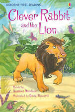 NEW USBORNE First Reading ( LEVEL TWO ) CLEVER RABBIT and the LION pb LEVEL2