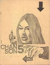 MAGAZINE CHANSON 1967 nr. 5 - BUFFY SAINTE MARIE / JULOS BEAUCARNE/HANS VAN TIJN