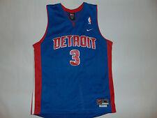 Detroit Pistons Ben Wallace #3 YOUTH Jersey Basketball NBA Sz Medium Length +2