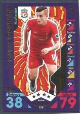 TOPPS MATCH ATTAX 2016-17- #158-LIVERPOOL-PHILIPPE COUTINHO-PLAYMAKER