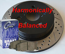 Fits Nissan Murano D/S Rotors Ceramic Pads Harmonically Balanced Design Rear