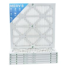 20x20x1 Merv 8 Pleated Ac Furnace Air Filters. 6 Pack