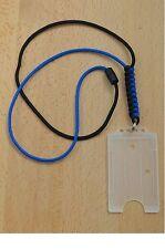 550 Paracord ID Cordino Collo (bianco e blu)