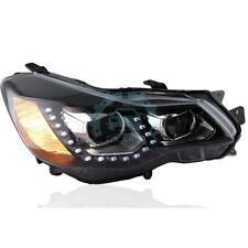 For Subaru XV Impreza WRX 2011-2015 LED Strip Headlights Front Lamps 1Pair