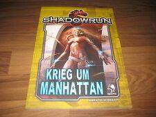 Shadowrun 5. Edition Krieg um Manhattan Abenteuerband Pegasus Press 2016  Neu