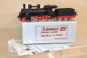 LEMACO HO-002 DR DRG BLACK 4-4-0 CLASS BR 13 1711 LOCO MINT BOXED ne