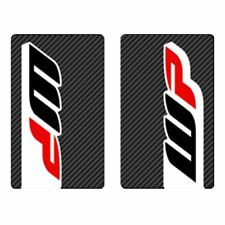 4MX Fork Decals WP Carbon Stickers fits Honda CRF250 X- 04-09