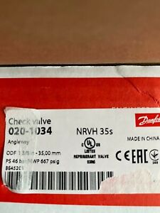 Danfoss NRVH 35s Check Valve 020-1034 - Angleway
