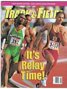 1999 Track and Field News Relays NCAA Championship Preview Boston Marathon