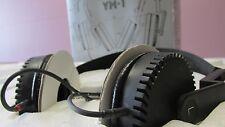 Used RARE VINTAGE YAMAHA ORTHODYNAMIC YH-1 STEREO HEADPHONES IN BOX MINT