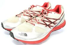 The North Face Ultra Smooth $110 Men's Running Shoes Size 9.5 Red Beige