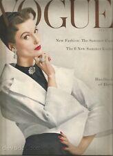 Vogue April 1953 Mainbocher - Valentina - Shirley Jackson -Penn and Fonssagrives