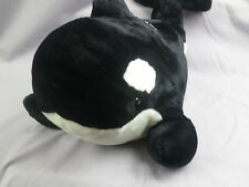 Big Seaworld Shamu Killer Whale Orca Vacation Adventure Plush Stuffed Animal Toy