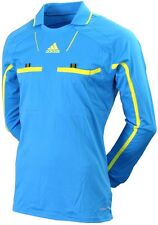 Adidas Referee [Size S] Jersey Long Sleeve Jersey Blue New & Original Package