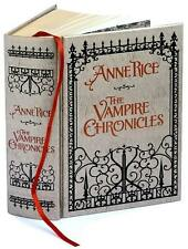 REDUCED ~ VAMPIRE CHRONICLES GIFT ED Anne Rice ~ LEATHER BOUND Lestat INTERVIEW