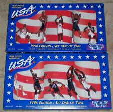 Starting Lineup Team USA Basketball from 1996 Sets 1 & 2 MIB