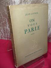 JE VIVRAI L'AMOUR DES AUTRES/ON VOUS PARLE Jean Cayrol