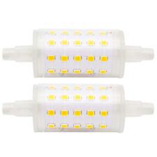 2x 5W R7s-J78 78mm LED Lampe Strahler Fluter Licht Leuchte Leuchtmittel Warmweiß