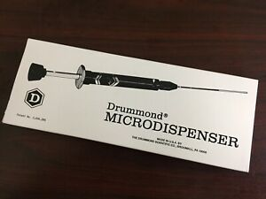 NEW - DRUMMOND Series 200 Dialamatic Microdispense 100uL Fixed Volume #3-000-275
