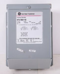 GE 1.00kVA Buck Boost Transformer (9T51B0110) 120/240 HV 12/24 LV 1PH 60Hz