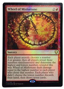 MTG. Commander Legends. CMR. 211. Wheel of Misfortune. Foil.