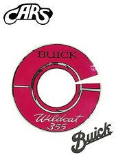 """1964-1966 Buick Wildcat 355 Air Cleaner Decal 7"""""""