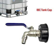 """IBC Adapter mit 3/4"""" Auslaufhahn für IBC Regenwasser Tank und Kanister 1000L GE"""