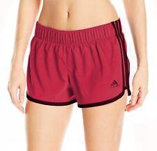 Adidas Mujer Ult 3 Rayas Pantalones Cortos Verano Correr Gimnasio SPORTS M68362