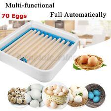70 Egg Incubator Digital Automatic Hatcher Temperature Control Chicken Birds Us