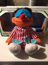 Sesame Street Sing And Snore Ernie-1997 Brand New
