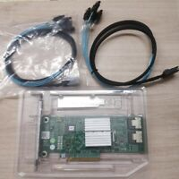 Dell PERC H310 8-Port 6Gb/s SAS Adapter RAID Controller HV52W +2PCS 8087 SATA