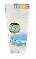 Intex 58472 8FT SnapSet Kiddie Swimming Pool - 8ft x 1 ft 6 in
