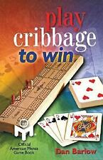 Play Cribbage to Win MENSA-ExLibrary