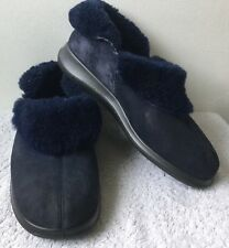 Ladies Hotter Size 5/38 Blue Slippers