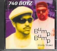 740 BOYZ - Bump bump (booty shake) CDM 5TR Hip-House 1995 (ORANGE RECORDS)
