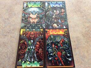 NINE VOLT #1,2,3,4 LOT OF 4 NM COMIC 1997 IMAGE