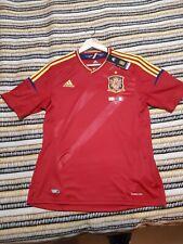 Camiseta España 2012 Selección española nueva L Euro 2012 Tshirt Adidas firmas