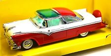 FORD FAIRLANE CROWN VICTORIA 1955 55 1:43 LUCKY 94202 RED NEW ROAD SIGNATURE