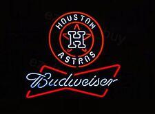 "New Houston Astros Budweiser beer Bar Pub Neon Light Sign 32"""