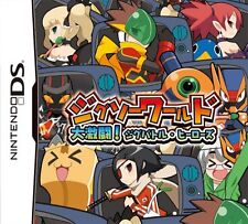 Used Nintendo DS Jigsaw World: Daigekitou! Jig-Battle Heroes (Free Shipping)