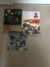 5 Punk 12� Vinyl Singles ,sham 69, Pil,test Tube Babies,members,hot Rods