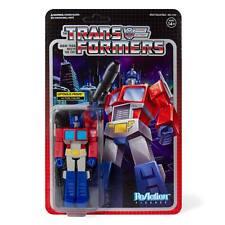 Transformers Optimus Prime Autobot 3 3/4 Inch ReAction Wave 1 Figur Super7
