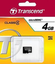 4GB Speicherkarte für HTC One M8, One Mini 2 - Transcend