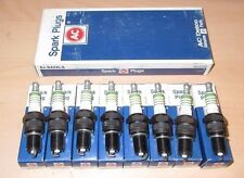 Box of 8 pack - AC Delco R42XLS NOS Spark Plugs Set of 8 - 5613100 Green Ring