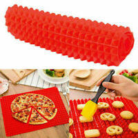 Silicone Pyramid Pan Tray Kitchen Baking Mat For Healthy Stic Cooking Non G G2R6