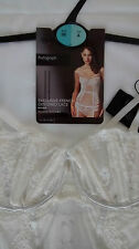 Marks & Spencer AUTOGRAPH LUXURIOUS FRENCH LACE BASQUE - 36A - BNWT