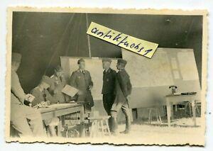 Foto : Kommandostelle der 3. Fern Aufklärungs-Gruppe Tannenberg in Polen 1939